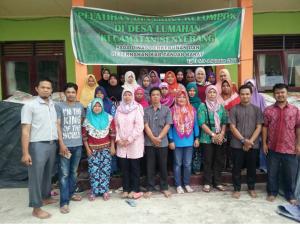 Pelatihan P2WKSS Tahun 2017 di Desa Lumahan Kec. Senyerang