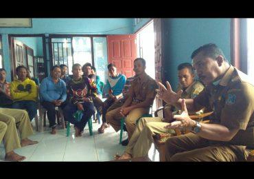 Pengambilan titik koordinat gratis untuk pembuatan STD-B oleh Disbunak Tanjabbar