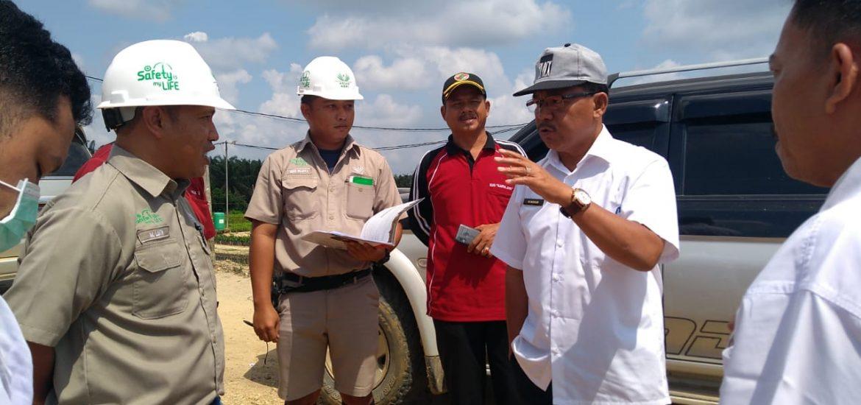 Monitoring Kegiatan Peremajaan Kelapa Sawit Rakyat